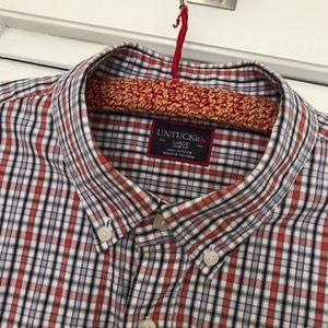 🆕 EUC Untuckit Men's Button Down Shirt